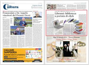 L'Unione Sarda - SoSeBi TLM Web Librami - Pagina Cultura